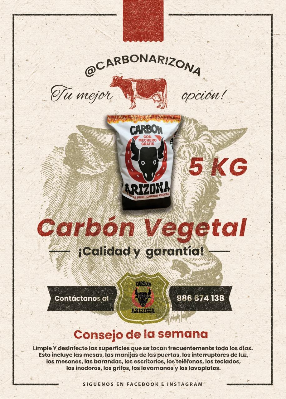 Carbón Vegetal 5 KG
