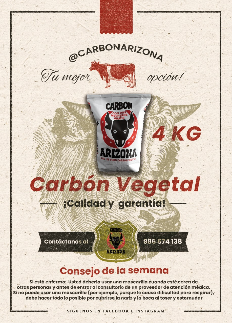 Carbón Vegetal 4KG