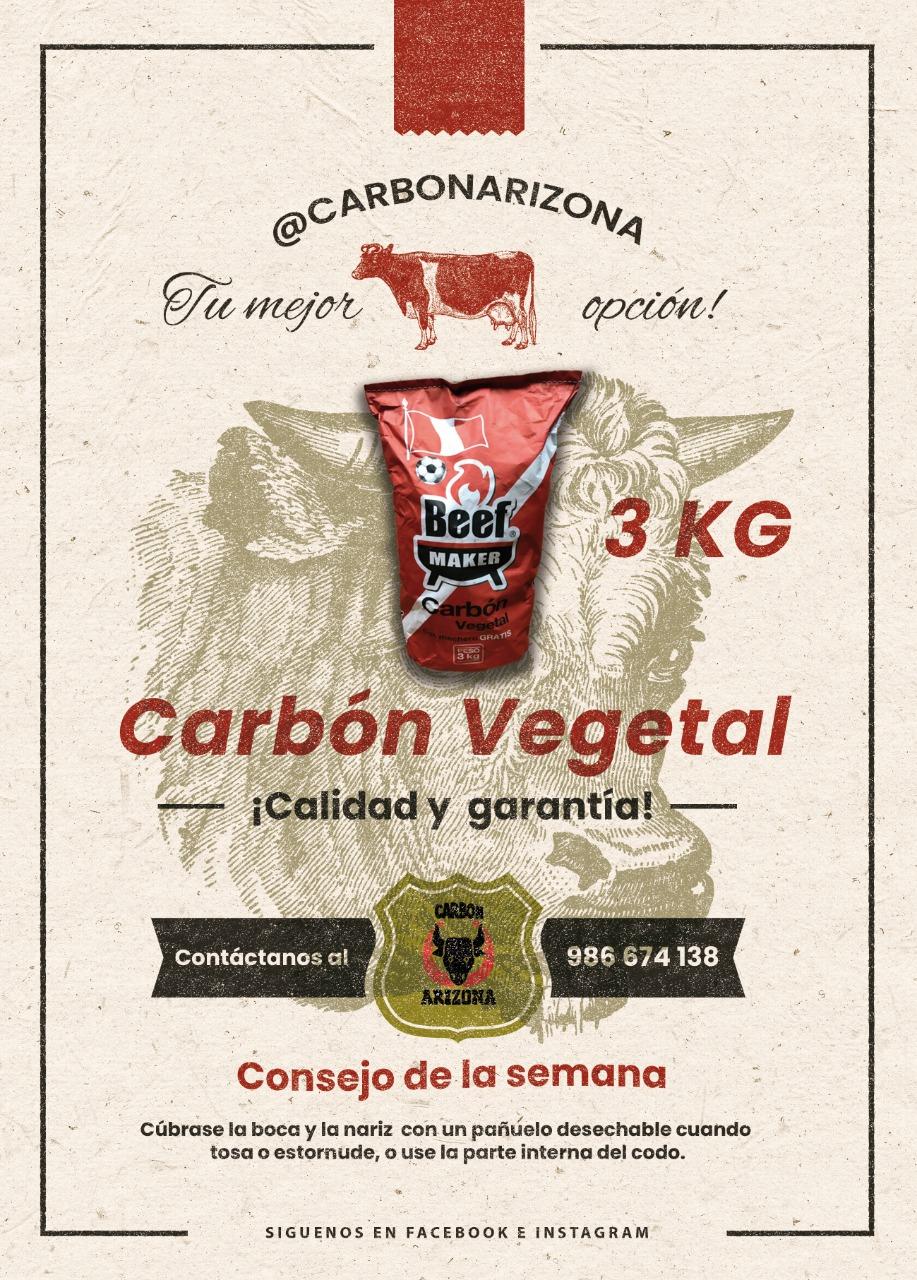 Carbón Vegetal 3 KG
